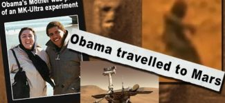 Alcyon Pléiades 26-1: Dissimulation de la vie et des voyages sur Mars. Obama sur Mars