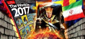 Alcyon Pleiades 53: Prédiction 2017 The Economist-Trump, balkaniser, Roumanie, Iran, Schengen, mur
