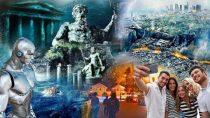 Alcyon Pléiades 75: Atlantide, Lémurie, Prophéties, Catastrophes d'autrefois et d'aujourd'hui, IA