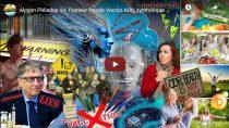 Alcyon Pléiades 94: Pasteur fraude Vaccin ADN synthétique Puce-tatouage quantique Luciférase Cyborg