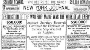 Le naufrage du Maine
